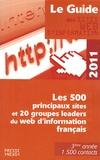 Développement Presse Médias - Le guide des sites web d'information - Les 500 principaux sites et 20 groupes leaders du web d'information français.