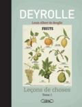 Deyrolle et Louis Albert de Broglie - Leçons de choses - Tome 2.