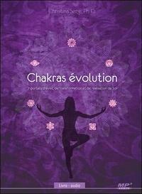 Christina Sergi - Chakras évolution - 7 portails d'éveil, de transformation et de réalisation de soi. 1 CD audio MP3