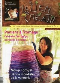 Le lien créatif - Le lien créatif N° 14, décembre 2015 : Paniers à fromage : faisselle, fattoghja, corbeille à cantal....