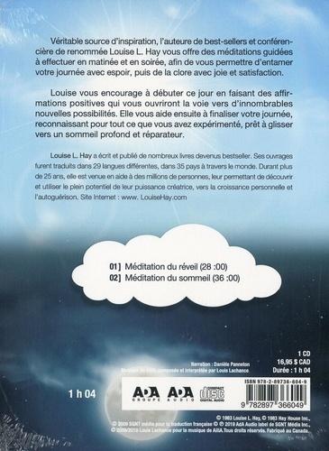Méditations du réveil et du sommeil  avec 1 CD audio MP3