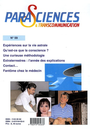 Roger Billard et Jean-Michel Grandsire - Parasciences & Transcommunication N° 59 : .