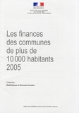 DGCL - Les finances des communes de plus de 10 000 habitants en 2005. 1 Cédérom