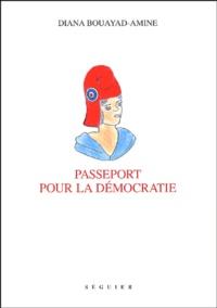 Diana Bouayad-Amine - Passeport pour la démocratie.