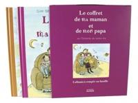 Diane Barbara et Serge Bloch - Le coffret de ma maman et de mon papa ou l'histoire de notre vie : L'album de ma maman, L'album de mon papa - Coffret de 2 volumes.