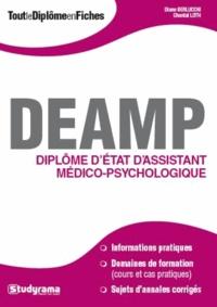 DEAMP - Diplôme d'Etat d'aide médico-psychologique - Diane Berlucchi |