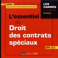 Diane Boustani - L'essentiel du droit des contrats spéciaux.
