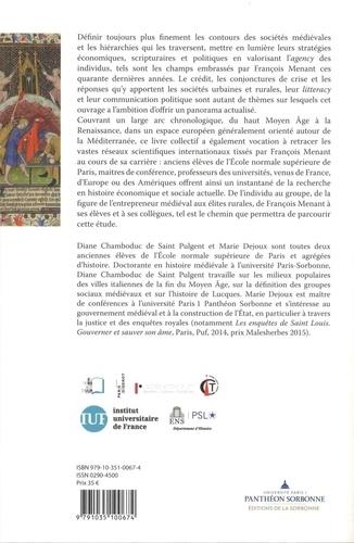 La fabrique des sociétés médiévales méditerranéennes. Les Moyen Age de François Menant