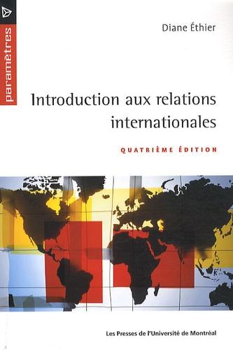 Diane Ethier - Introduction aux relations internationales.