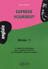 Anglais Express yourself! Niveau 1.pdf