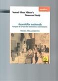 Dianoia - Assemblée nationale - Autopsie de la mère des institutions camerounaises - Histoire, bilan, perspectives.