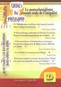 Deedr.fr Postcolonialisme comme code de l'inégalité Image