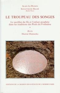 Diawne Diamanka et Alain Le Pichon - Le troupeau des songes - Le sacrifice du fils et l'enfant prophète dans les traditions des Peuls du Fouladou.