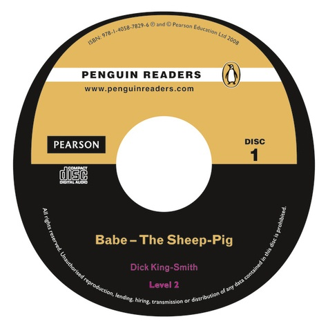 Dick King-Smith - Babe The Sheep Pig Book/CD Pack: Level 2.