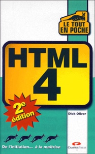 HTML 4. 2ème édition - Dick Oliver | Showmesound.org