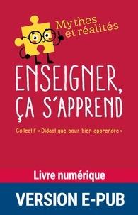 Livres de cours téléchargeables gratuitement Enseigner, ça s'apprend  9782725676838 par Didactique pour enseigner in French