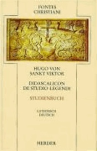 Didascalicon de studio legendi. Studienbuch.