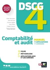 Didier Bensadon et Alain Burlaud - DSCG 4 - Comptabilité et audit - manuel et applications - Millésime 2020-2021.