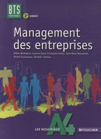 Didier Bertholom et Laurent Izard - Management des entreprises BTS Tertiaires 2e année Les nouveaux A4.