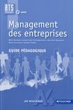 Didier Bertholom et Laurent Izard - Management des entreprises BTS tertiaires 2e année - Guide pédagogique.