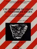 Didier Binder - Une économie de chasse au néolithique ancien - La grotte Lombard à Saint-Vallier-de-Thiey (Alpes-Maritimes).