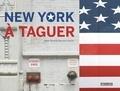 Didier Bizet et Charlotte Vannier - New York à taguer - Avec un feutre edding doré.