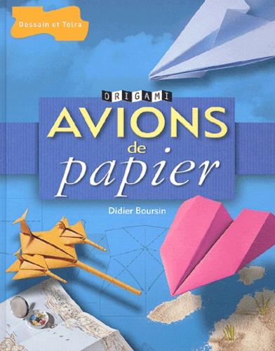 Didier Boursin - Avions de papier.
