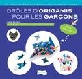 Didier Boursin - Drôles d'origamis pour les garçons - Avec 110 stickers !.