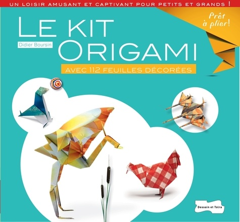 Didier Boursin - Le kit origami.