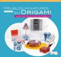 Didier Boursin - Meubles miniatures en origami - Avec 127 feuilles décorées.