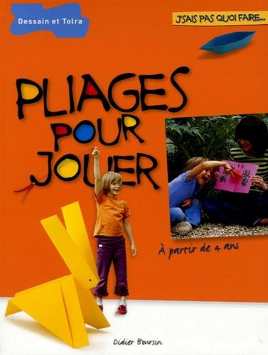 Didier Boursin - Pliages pour jouer.