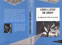 Didier Boutet - Vers l'État de droit - La théorie de l'État et du droit.
