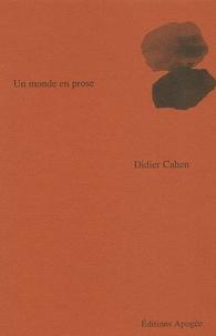 Didier Cahen - .