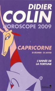Didier Colin - Capricorne - Horoscope 2009.