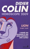 Didier Colin - Lion - Horoscope 2009.