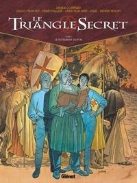 Didier Convard et Gilles Chaillet - Le Triangle Secret Tome 1 : Le Testament du fou.
