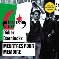 Didier Daeninckx et Didier Flamand - Meurtres pour mémoire.