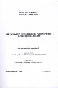 Didier Danet et Armel Liger - Pérennisation des entreprises patrimoniales : l'apport de la fiducie.