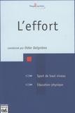 Didier Delignières - L'effort.