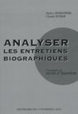 Didier Demazière et Claude Dubar - Analyser les entretiens biographiques - L'exemple des récits d'insertion.