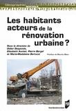Didier Desponds et Elisabeth Auclair - Les habitants : acteurs de la rénovation urbaine ?.