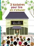 Didier Dufresne et Méli Marlo - 3 histoires pour lire et s'amuser - Le monstre du tableau ; La classe de la sorcière ; L'école des mammouths.