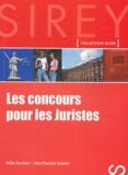 Didier Durchon et Jean-François Guédon - Les concours pour les juristes.