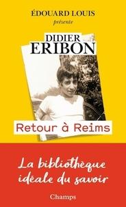 Didier Eribon - Retour à Reims.