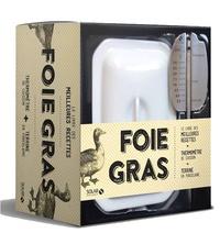 Histoiresdenlire.be Foie gras - Avec 1 livre de recettes, 1 thermomètre de cuisson, 1 terrine en porcelaine Image