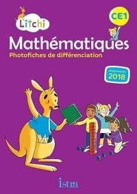 Didier Fritz et Catherine Vilaro - Litchi Mathématiques CE1 - Photofiches de différenciation.