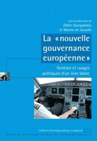 """Didier Georgakakis - La """"nouvelle gouvernance européenne"""" - Genèses et usages politiques d'un Livre blanc."""