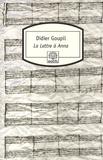 Didier Goupil - La Lettre à Anna.