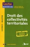Didier Guignard - Droit des collectivités territoriales.