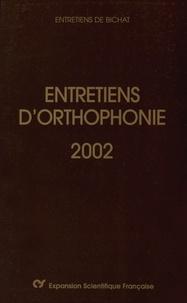 Didier-Jacques Duché et Christophe-Loïc Gérard - Entretiens d'orthophonie 2002.